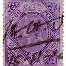 (I.B) QV Revenue : Companies Registration 1/- (1867)