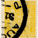 (I.B) New Zealand Revenue : Stamp Duty 1/3d (Auckland parcel post)