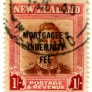 (I.B) New Zealand Revenue : Mortgagee's Indemnity Fee 1/-
