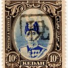 (I.B) Malaya States Revenue : Kedah (Japanese Occupation) 10c OP