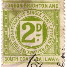 (I.B) London Brighton & South Coast Railway : Letter 2d