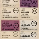 (I.B) London & North Eastern Railway : Parcel Label Collection