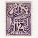 (I.B) George V Revenue : Health & Pensions Insurance 1/2d