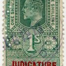 (I.B) Edward VII Revenue : Judicature Ireland 1/-