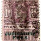(I.B) Edward VII Revenue : Judicature Fees 1d