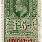 (I.B) Edward VII Revenue : Judicature Ireland 1/6d
