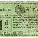 (I.B) Australia - Victoria Railways : Parcel 1d (Wilson & Mackinnon)