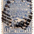 (I.B) Australia - Queensland Railways : Parcel 1d