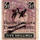 (I.B) Bechuanaland Protectorate Revenue : Duty £5
