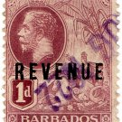 (I.B) Barbados Revenue : Duty 1d