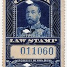 (I.B) Canada Revenue : Law Stamp $1