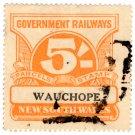 (I.B) Australia - NSW Railways Parcel 5/- (Wauchope)