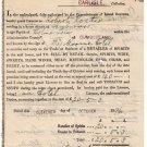 (I.B) QV Revenue : Publican's Licence £20 5/3d  (Marine Hotel Skinburness 1894)