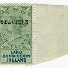 (I.B) QV Revenue : Land Commission Ireland 2/-