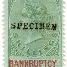 (I.B) QV Revenue : Bankruptcy Ireland 10/-