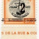 (I.B) Grenada Revenue : Duty Stamp 2 on $1.50 OP