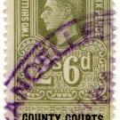 (I.B) George VI Revenue : County Courts (Northern Ireland) 2/6d
