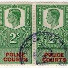 (I.B) George VI Revenue : Police Courts 4/-