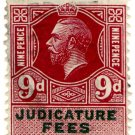 (I.B) George V Revenue : Judicature Fees 9d