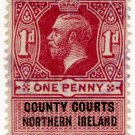 (I.B) George V Revenue : County Courts (Northern Ireland) 1d