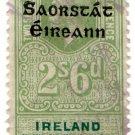 (I.B) George V Revenue : Ireland Registration of Deeds 2/6d OP
