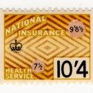 (I.B) Elizabeth II Revenue : National Insurance 10/4d