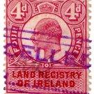 (I.B) Edward VII Revenue : Land Registry Ireland 4d