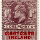 (I.B) Edward VII Revenue : County Courts Ireland 1d