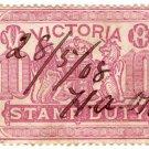 (I.B) Australia - Victoria Revenue : Stamp Duty £10