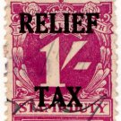 (I.B) Australia - NSW Revenue : Relief Tax 1/-