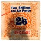 (I.B) Australia - Queensland Railways : Parcel 2/6d (Brisbane)