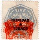 (I.B) Trinidad & Tobago Revenue : Duty 5/-