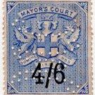 (I.B) QV Revenue : Mayor's Court 4/6d