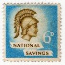 (I.B) National Savings : Britannia 6d