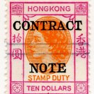 (I.B) Hong Kong Revenue : Contract Note $10