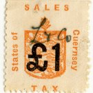 (I.B) Guernsey Revenue : Sales Tax £1