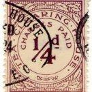 (I.B) George V Revenue : Tea Clearing House ¼d