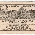 (I.B) Cinderella Collection : London Stamp Exhibition 1928