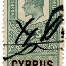 (I.B) Cyprus Revenue : Duty 2/-