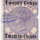 (I.B) Ceylon Revenue : Foreign Bill 20c on 45c