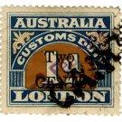 (I.B) Australia Revenue : Customs Duty 2c on 1d OP