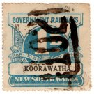(I.B) Australia - NSW Railways Parcel 1d (Koorawatha)