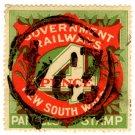 (I.B) Australia - NSW Railways Parcel 4d