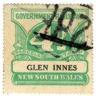 (I.B) Australia - NSW Railways Parcel 4d (Glen Innes)