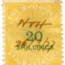 (I.B) New Zealand Revenue : Law Courts 20/-