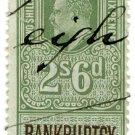(I.B) Edward VII Revenue : Bankruptcy 2/6d