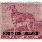 (I.B) George V Revenue : Dog Licence (Northern Ireland) 4/-