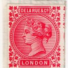 (I.B) Cinderella : De La Rue & Co - Dummy Stamp (Colour Essay)