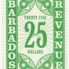 (I.B) Barbados Revenue : Duty $25
