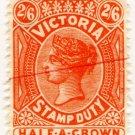 (I.B) Australia - Victoria Revenue : Stamp Duty 2/6d